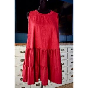 Free People Right On Time Tunic In Vino